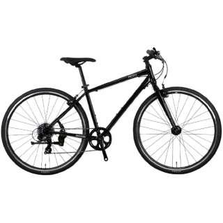 700×32C クロスバイク バカンゼ 2フラッシュ VACANZE 2 FLASH 500mm(ブラック/7段変速《適応身長:173cm~》)NE-21-014 【2021年モデル】 【組立商品につき返品不可】