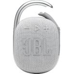 ブルートゥーススピーカー ホワイト JBLCLIP4WHT [Bluetooth対応]