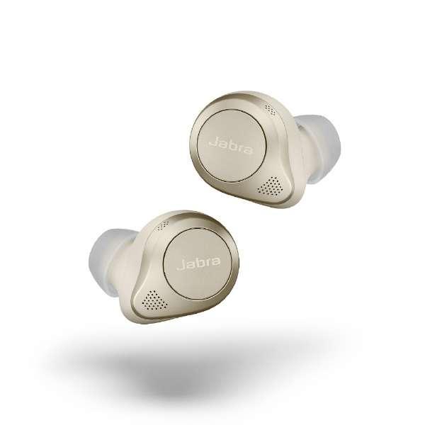フルワイヤレスイヤホン Elite 85t ゴールド 100-99190004-40 [リモコン・マイク対応 /ワイヤレス(左右分離) /Bluetooth /ノイズキャンセリング対応]