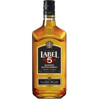 ラベル5 クラシックブラック 500ml【ウイスキー】