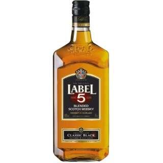 ラベル5 クラシックブラック 700ml【ウイスキー】