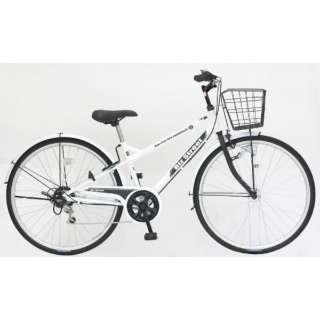 27型 自転車 ビズストリート(マットホワイト/外装6段変速) SNI76S【2021年モデル】 【組立商品につき返品不可】