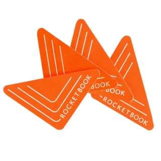 〔仮想スマートホワイトボード〕 Rocketbook Beacons ロケットブック ビーコン オレンジ