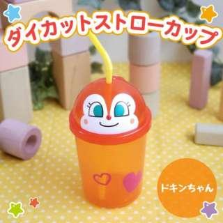 アンパンマン ダイカットストローカップ(ドキンちゃん) A00131