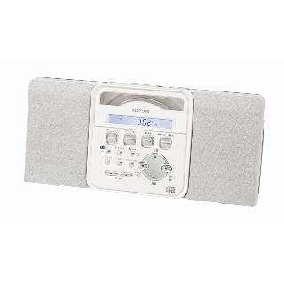 ステレオCDシステム ホワイト SAD-4343/W [ワイドFM対応]
