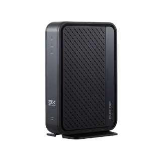 Wi-Fiルーター 親機 2402+574Mbps ブラック WRC-X3000GSN [Wi-Fi 6(ax)/ac/n/a/g/b]