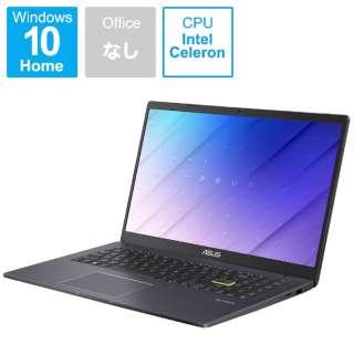 E510MA-EJ200T ノートパソコン ASUS E510MA スターブラックメタル [15.6型 /intel Celeron /eMMC:128GB /メモリ:4GB /2021年2月モデル]