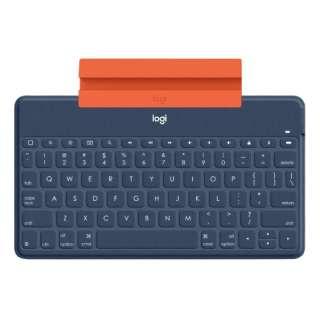 キーボード KEYS-TO-GO(英語配列) クラシックブルー iK1042CB [Bluetooth /ワイヤレス]