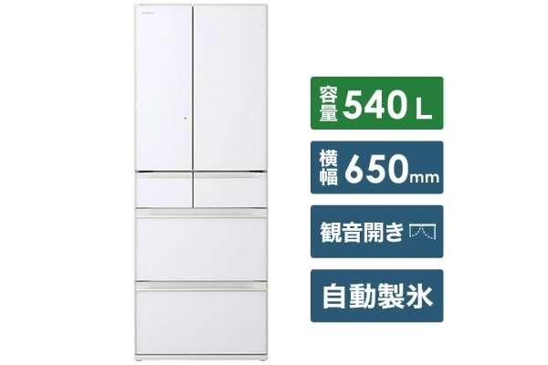 1位 日立「HWタイプ」6ドア冷蔵庫 R-HW54R(540L/冷凍室109L)