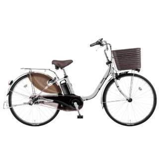 電動アシスト自転車 ビビ・DX マットフォググレー BE-ELD636N2 [26インチ /3段変速] 【組立商品につき返品不可】