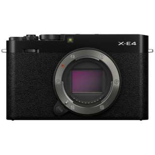 X-E4-B ミラーレス一眼カメラ ブラック FXE4B [ボディ単体]