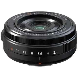 カメラレンズ XF27mmF2.8 R WR FUJINON(フジノン) [FUJIFILM X /単焦点レンズ]
