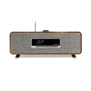 Compact Music System リッチウォルナット R3 [Wi-Fi対応 /ワイドFM対応 /Bluetooth対応 /ハイレゾ対応]