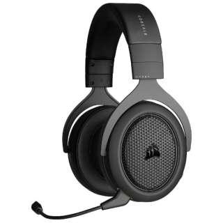 CA-9011227-AP ゲーミングヘッドセット HS70 BLUETOOTH ブラック [ワイヤレス(Bluetooth)+有線 /両耳 /ヘッドバンドタイプ]