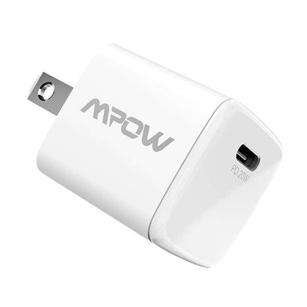 MPOW ACアダプター PA224A [1ポート /USB Power Delivery対応]