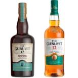 [オリジナルグラス2個付きセット] ザ・グレンリベット 12年 & 12年 イリシット・スティル 飲み比べセット 700ml 2本【ウイスキー】