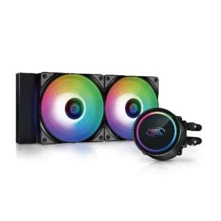 水冷CPUクーラー GAMMAXXL240 A-RGB DP-H12CF-GL240-ARGB