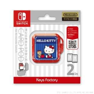 サンリオキャラクターズ カードポッドfor Nintendo Switch ハローキティ CCP-004-1 【Switch】
