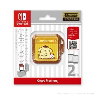 サンリオキャラクターズ カードポッドfor Nintendo Switch ポムポムプリン CCP-004-2 【Switch】