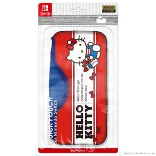 サンリオキャラクターズ クイックポーチfor Nintendo Switch ハローキティ CQP-010-1 【Switch】