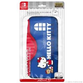サンリオキャラクターズ クイックポーチfor Nintendo Switch Lite ハローキティ CQP-103-1 【Switch Lite】
