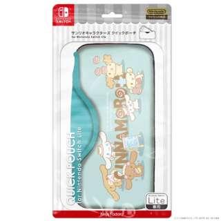 サンリオキャラクターズ クイックポーチfor Nintendo Switch Lite シナモロール CQP-103-3 【Switch Lite】