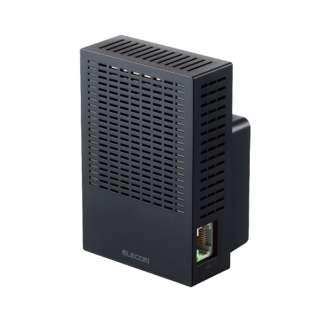 WTC-C1167GC-B 無線LAN(Wi-Fi)中継機 【コンセント直挿型】867+300Mbps ブラック