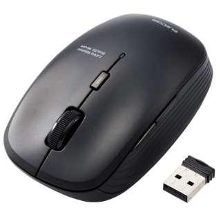 M-BL21DBKBK マウス ブラック [BlueLED /5ボタン /USB /無線(ワイヤレス)]