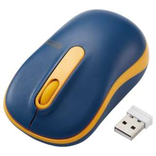 マウス ネイビー M-DY11DRSKNV [光学式 /無線(ワイヤレス) /3ボタン /USB]