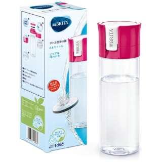 ボトル型浄水器 fill&go(フィルアンドゴー) ピンク KBVICP12