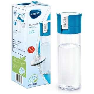 ボトル型浄水器 fill&go(フィルアンドゴー) ブルー KBVICB12