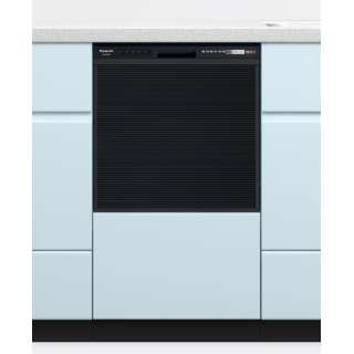 NP-45RS9K ビルトイン食器洗い乾燥機 R9シリーズ ブラック [5人用 /ミドル(浅型)タイプ]