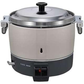 業務用ガス炊飯器 6.0L 都市ガス(12・13A)φ9.5ガス用ゴム管接続 RR-300C-B [3升]
