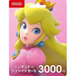 【店舗販売のみ】ニンテンドープリペイドカード 3000円