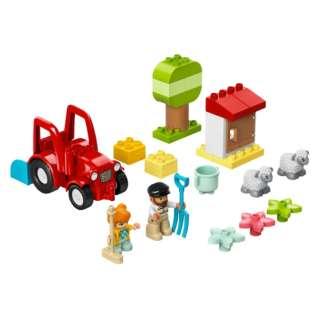 LEGO(レゴ) 10950 デュプロ ぼくじょうトラクターとどうぶつたち