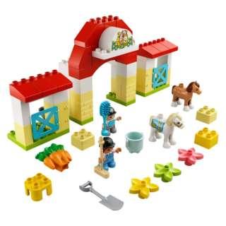 LEGO(レゴ) 10951 デュプロ ぼくじょうのこうまのおうち