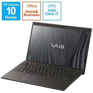VJZ14190111B ノートパソコン VAIO Z(4K・LTE) ブラック [14.0型 /intel Core i7 /SSD:512GB /メモリ:16GB /2021年03月モデル]