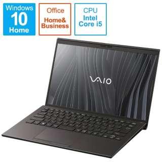 VJZ14190311B ノートパソコン VAIO Z ブラック [14.0型 /intel Core i5 /SSD:512GB /メモリ:16GB /2021年03月モデル]