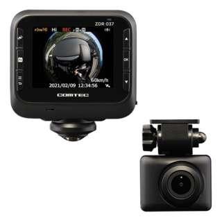 ドライブレコーダー ZDR037 [一体型 /前後カメラ対応]
