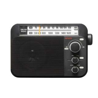 ホームラジオ ブラック AR-A10B [AM/FM /ワイドFM対応]