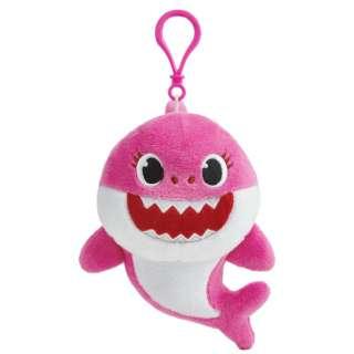 Singing Plush Clip Mommy Shark