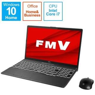 FMVAXF1B ノートパソコン LIFEBOOK AH-X/F1(4K有機EL) ブライトブラック [15.6型 /intel Core i7 /SSD:1TB /メモリ:16GB /2021年春モデル]