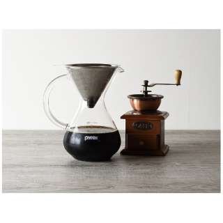PYREX コーヒーサーバー 600ml ステンレスフィルター付き CP-8537