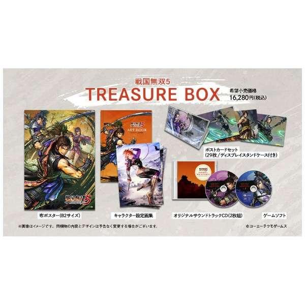 【早期購入特典付き】 戦国無双5 TREASURE BOX 【PS4】
