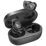 フルワイヤレスイヤホン SoundPEATS ブラック TRUEFREE2-BK [リモコン・マイク対応 /ワイヤレス(左右分離) /Bluetooth]