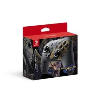 【純正】Nintendo Switch Proコントローラー モンスターハンターライズエディション 【Switch】