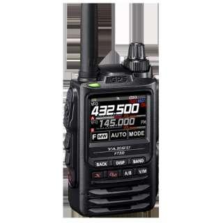 C4FM/FM 144/430MHz デュアルバンドデジタルトランシーバー FT3D