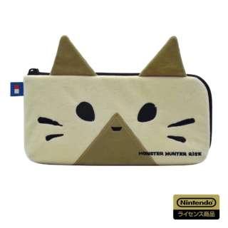 モンスターハンターライズ ハンドポーチ for Nintendo Switch オトモアイルー AD12-001 【Switch】