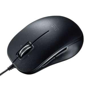 MA-BL191BK マウス ブラック [BlueLED /5ボタン /USB /有線]