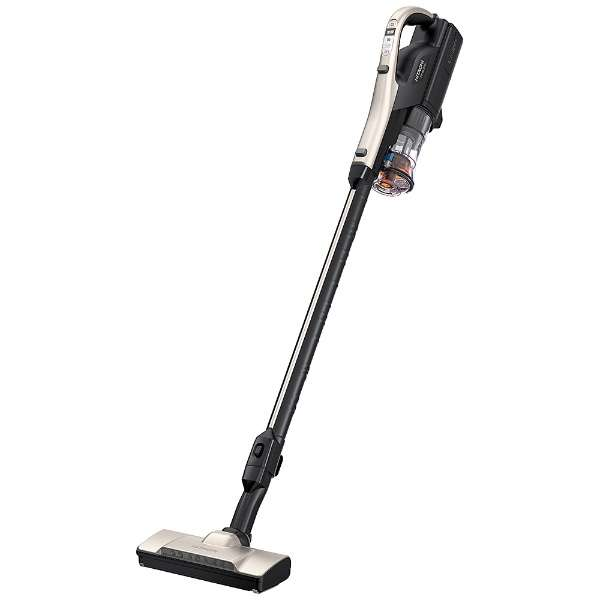 スティック型掃除機 シャンパンゴールド PV-BL30H-N [サイクロン式 /コードレス]